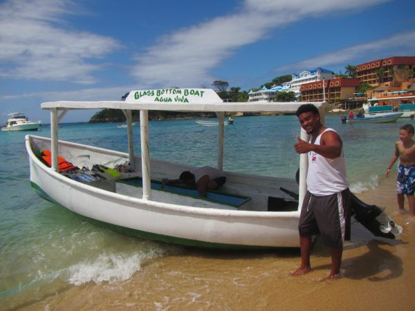 glass bottom boat sosua