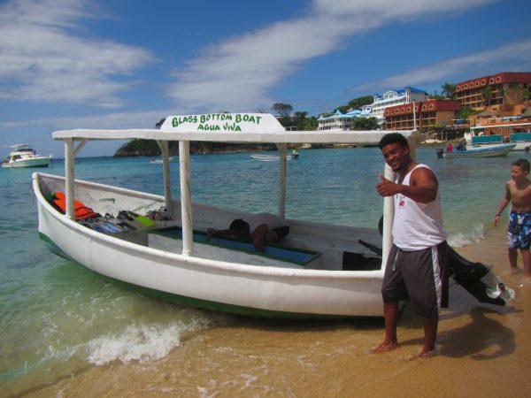 glass bottom boat sosua